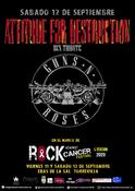 Attitude For Destruction BCN - Guns N' Roses Tribute en la 5ª Edición de Rock Against Cancer de Torrevieja