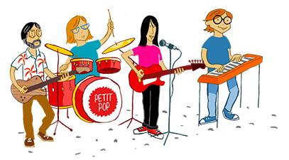 Petit Pop en concierto